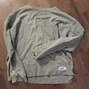 Diesel Green Sweatshirt Size L